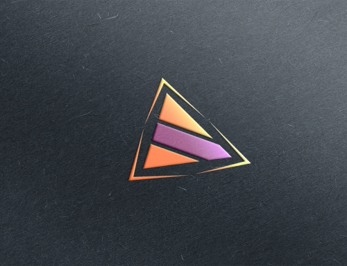 Logo design triangle